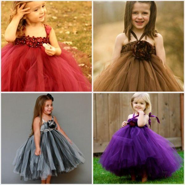 Идеи платья из фатина