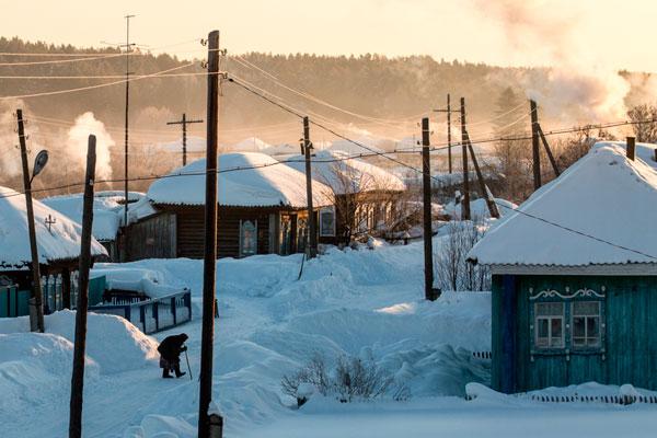 Температура зимой в некоторых районах не превышает -40 градусов