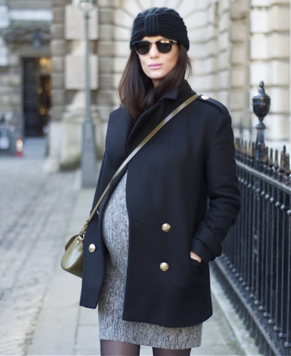 Короткое сдержанное пальто