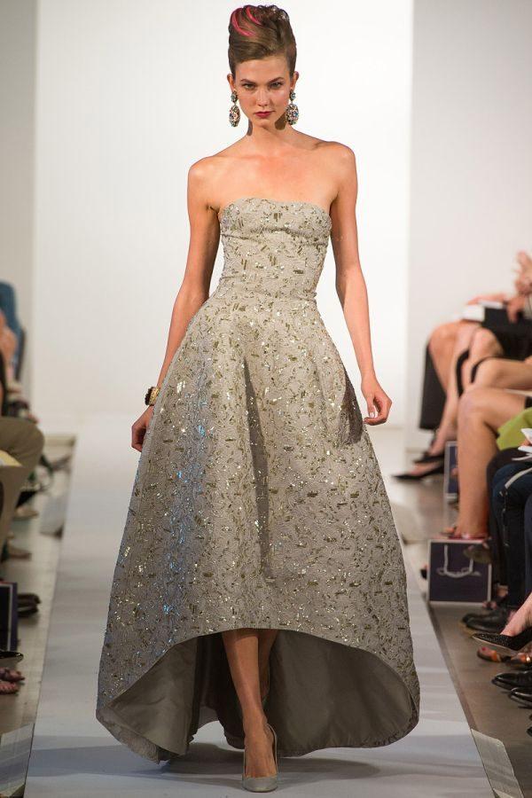 Платья с роскошным подолом