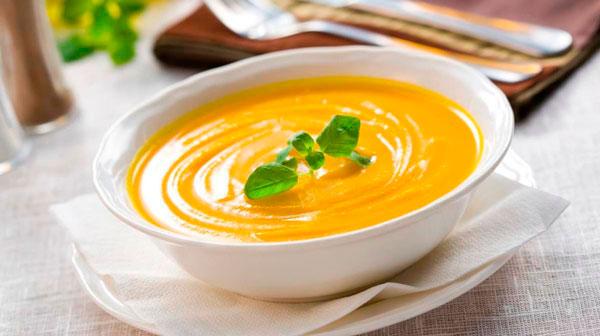 Диабетический тыквенный суп