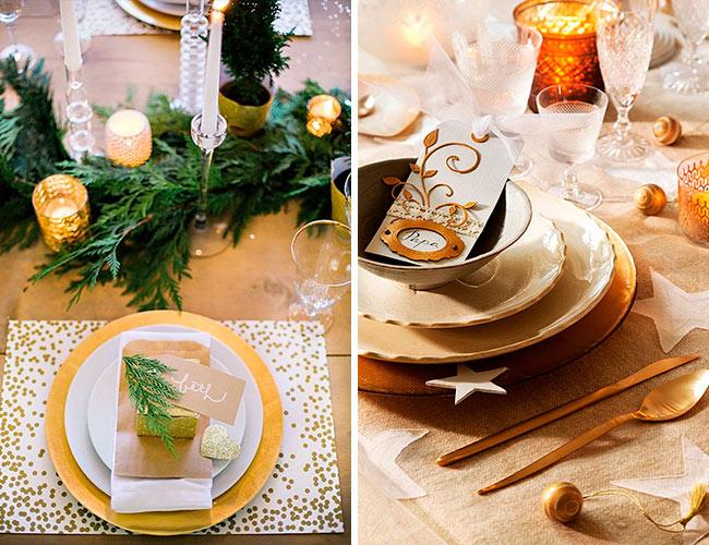 Красиво украшаем стол на Новый год 2019