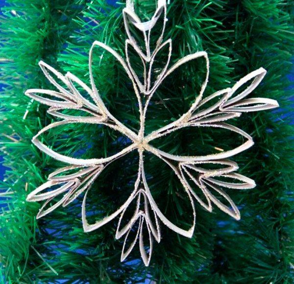Снежинки декоративные