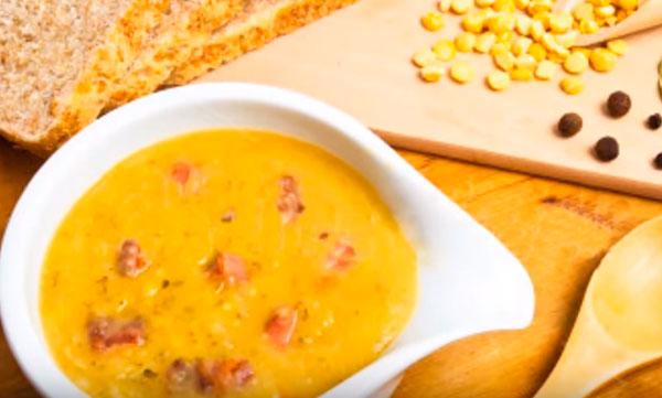 Суп из цветной капусты с овсянкой и солеными огурцами