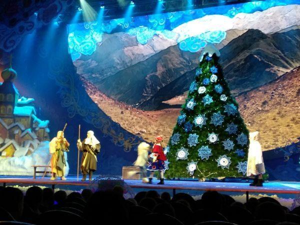 Спектакли проводятся с 23 декабря по 8 января.