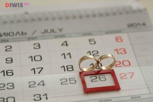 Удачные дни в 2019 для свадьбы