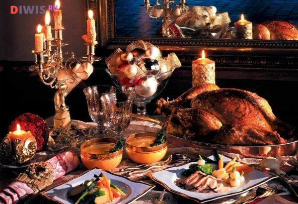 рождественский стол должен быть богатым