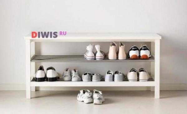 Особенности выбора обувницы в прихожую