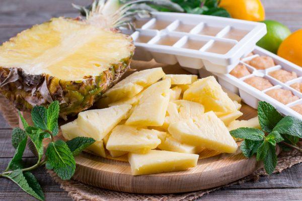Как сохранить ананасы до Нового года?
