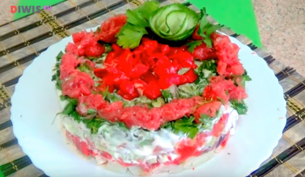 Салат «Красочный»