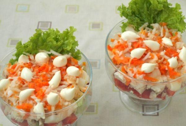 Новогодние салаты без майонеза - самые вкусные
