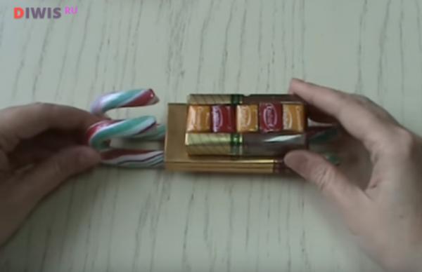 Как красиво и оригинально оформить сладкий подарок на Новый год 2019?