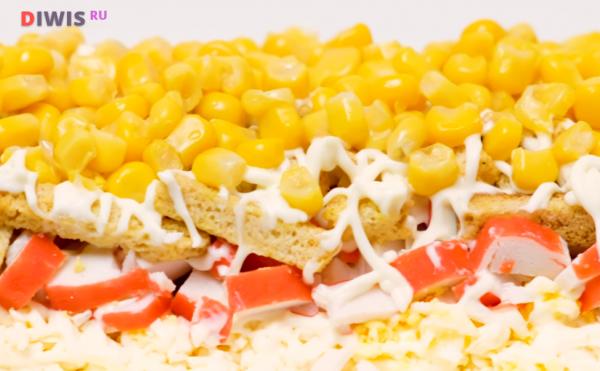 Салат «кукурузный»