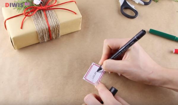 Как красиво и необычно оформить подарок на Новый год 2019