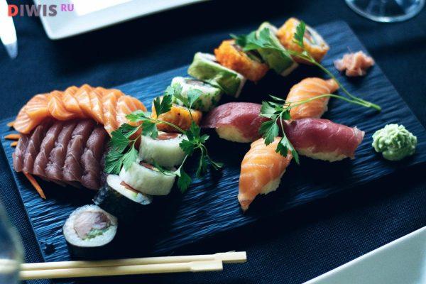 Тануки — лучшие условия доставки свежих блюд японской кухни