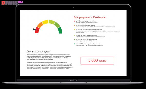 Портал «Займи Срочно» позволит заемщикам бесплатно узнать кредитный рейтинг