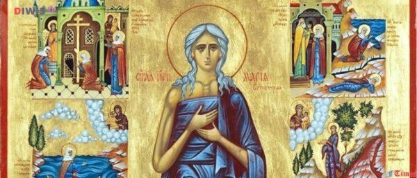 Пятая неделя Великого поста – Преподобной Марии Египетской