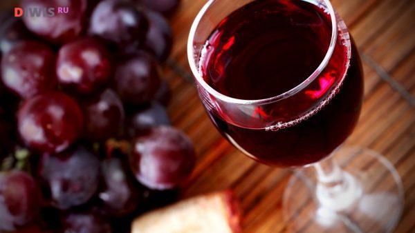 красное натуральное вино