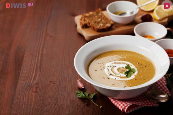 Суп - пюре фасолевый
