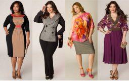 Мода для полных женщин за 40 в 2019 году весна-лето