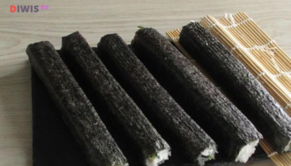 Вкусные роллы - рецепты с фото