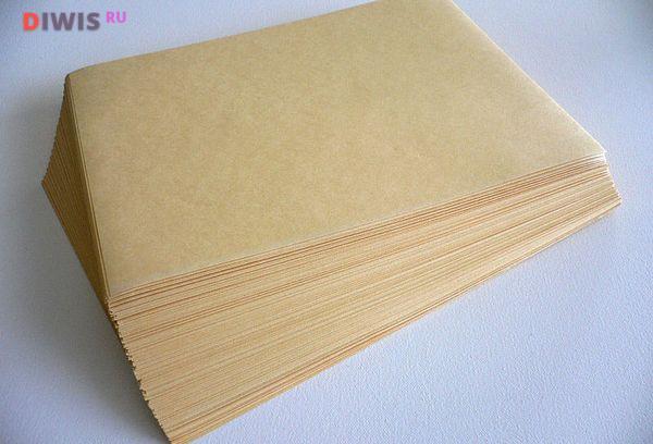 Чем заменить пергаментную бумагу при выпечке