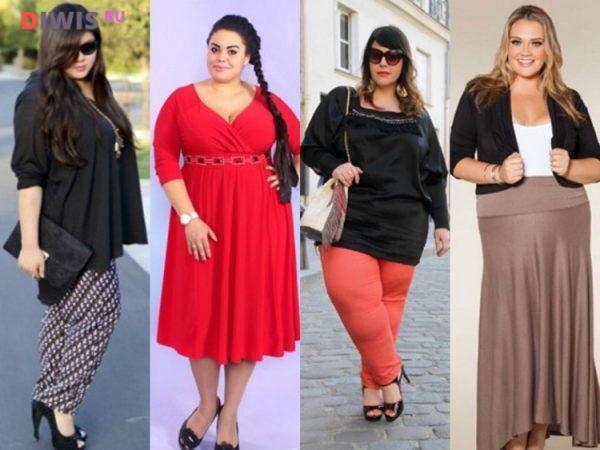 Мода для полных женщин за 50 лет в 2019 году