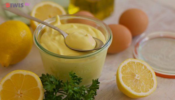 Сок лимона сделает домашний майонез менее калорийным