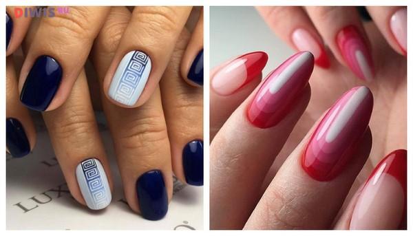 Модный маникюр на весну 2019 на короткие ногти