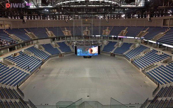 """на стадионе """"Иерусалим-Арена"""""""