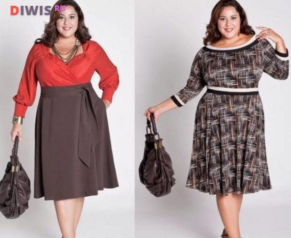 Модные тенденции для полных женщин за 40 лет