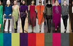 Самые модные цвета в одежде 2019 года
