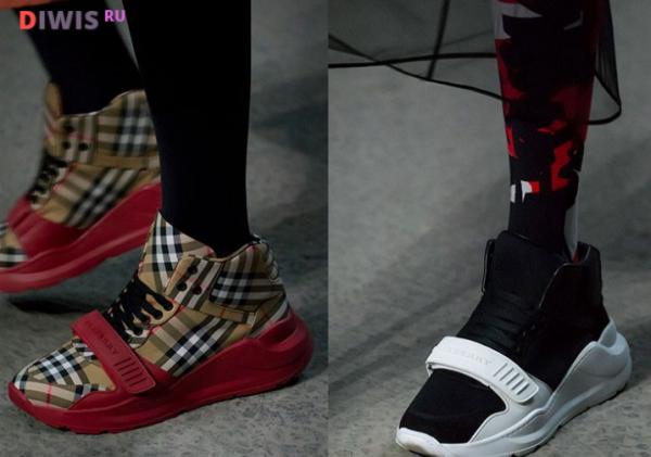 Модные женские кроссовки 2019 года