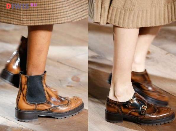 Ботинки на весну 2019 года - модные тренды