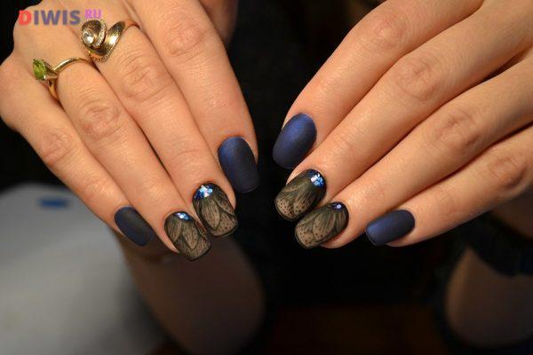 Коричневый синий