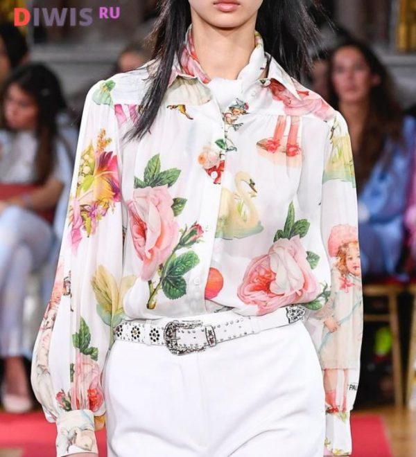 Новинки модных блузок 2019 года