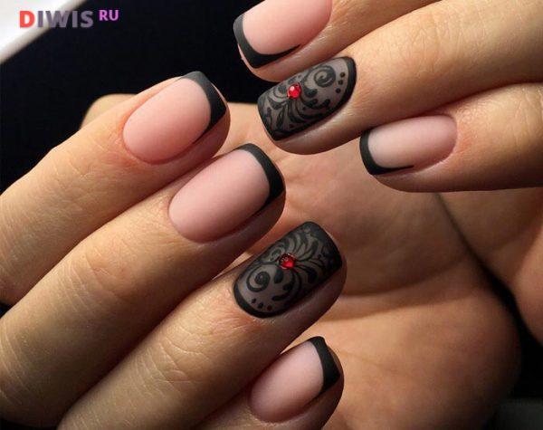 Ногти френч - модные идеи 2019 года