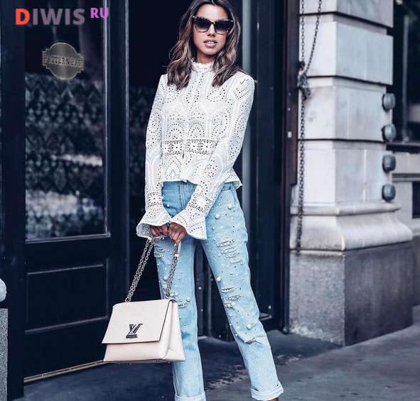 Модные джинсы 2019 года