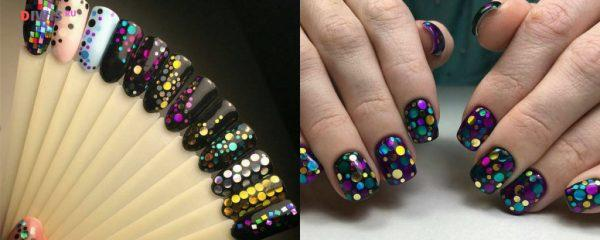 Дизайн ногтей на весну 2019 года с камифубуки