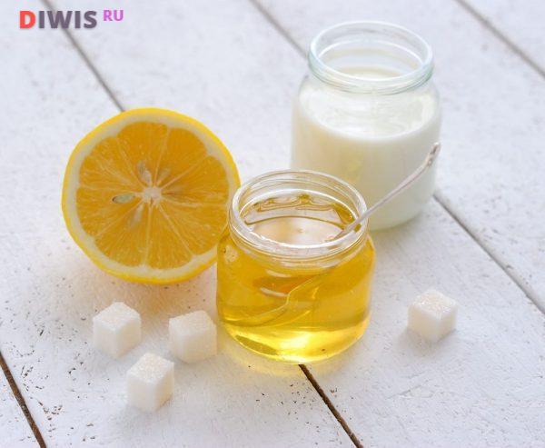 Молоко и лимон