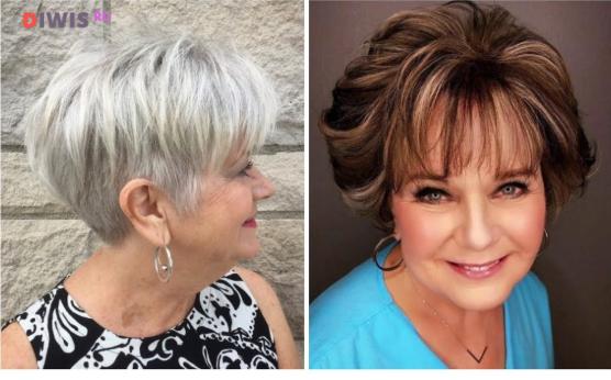Cтрижки на короткие волосы 2019 года после 50 лет