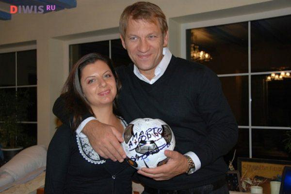 Маргарита Симоньян с Андреем Благодыренко