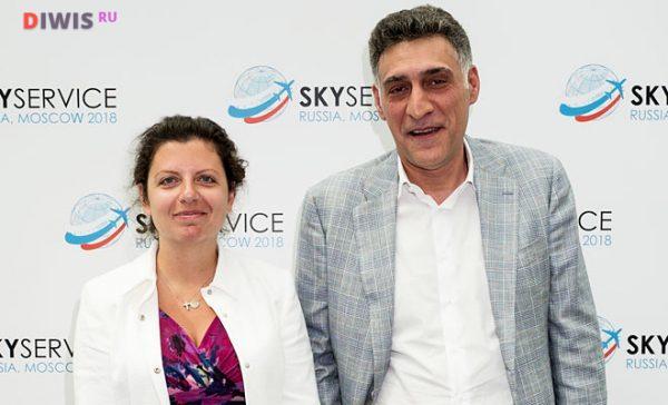 Маргарита с Симоньян с Тиграном Кеосаяном