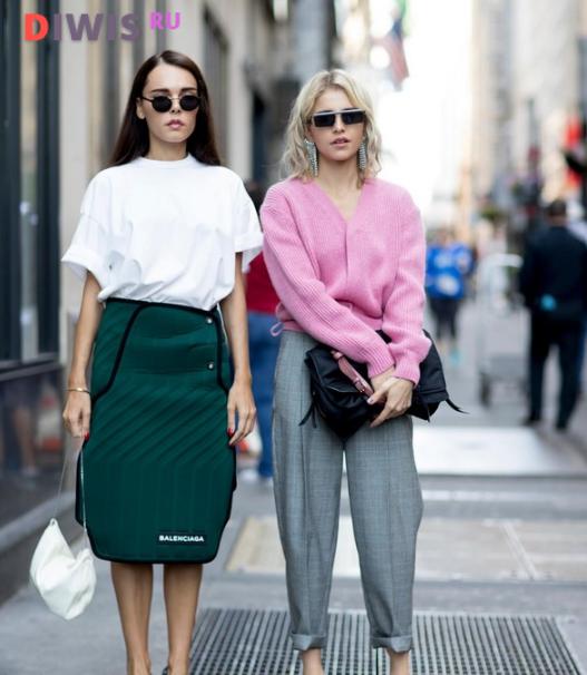 Модные летние луки 2019 года