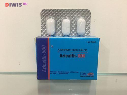 Как принимать Азитромицин 500 мг