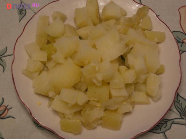 Вкусная классическая окрошка на кефире