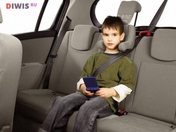 С какого возраста можно ездить без детского кресла