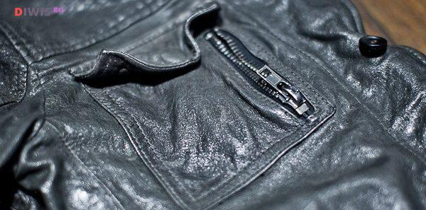 Как выпрямить кожаную куртку от складок в домашних условиях