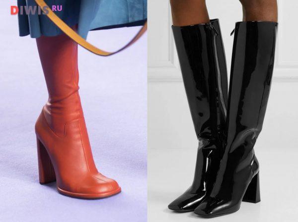 Модные сапоги 2019-2020 года