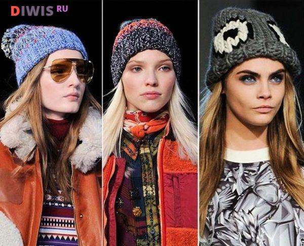 Модные головные уборы осень-зима 2019-2020 года
